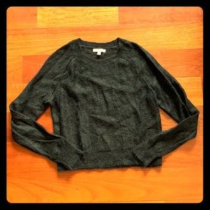 Banana Republic Mohair Cropped Sweater